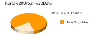 Betul census population